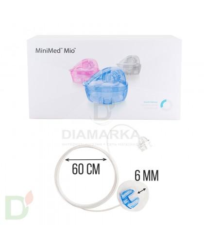 Инфузионный набор Medtronic MiniMed MIO ММТ-943(ГОЛУБОЙ)